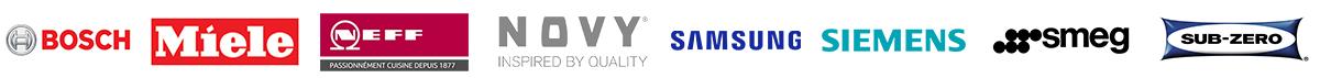 Bosch Miele Neff Novy Samsung Siemens Smeg Sub-zero