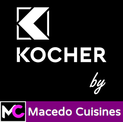 Logo Kocher by Macedo Cuisines