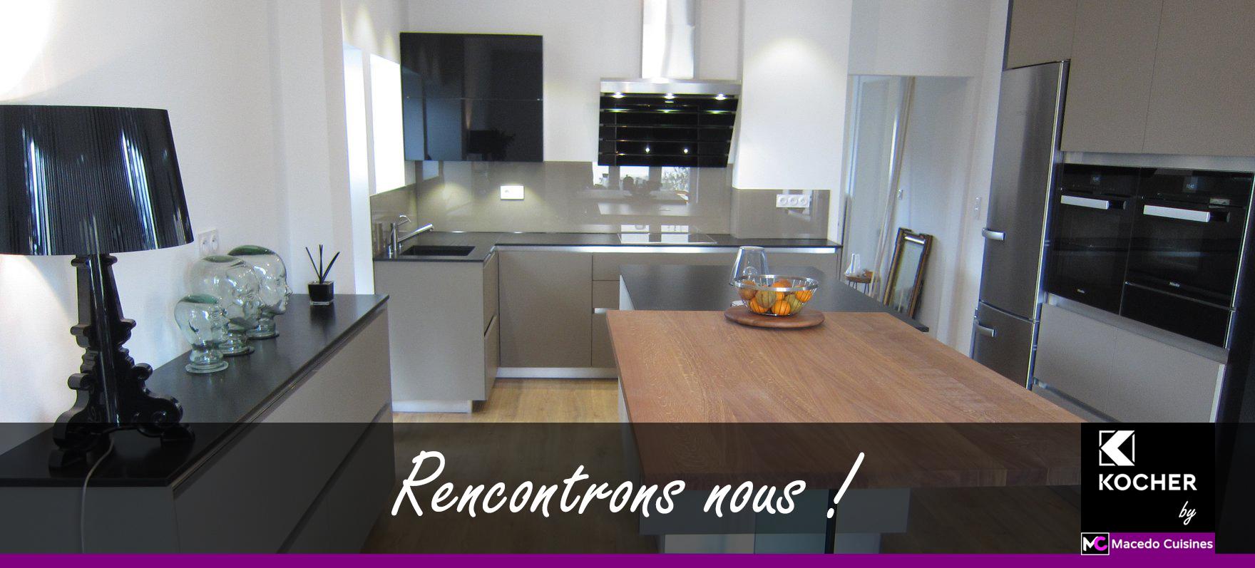 Prise de rendez-vous Cuisines Macedo Kocher - Vendeur et installateur de cuisines, dressings, salles de bain sur Metz