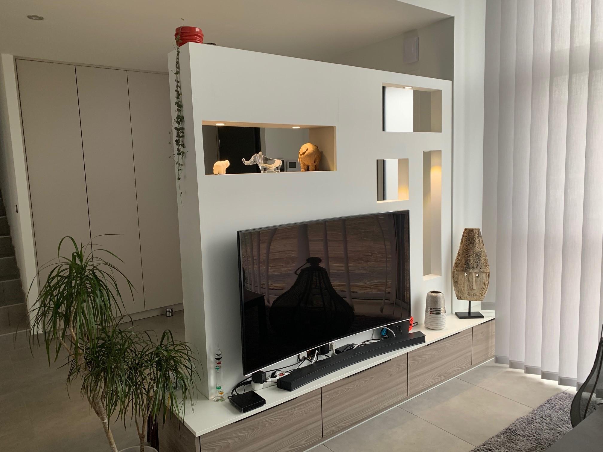Aménager l'entrée et meuble télé